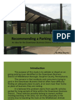 Downtown Middletown parking study