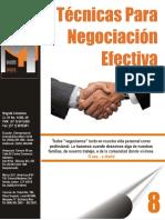 8 Tecnicas Para Negociacion Efectiva