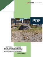 Estudio Trayectorias de Drenaje Pluviales y Sanitarios Del Aeropuerto de Durango