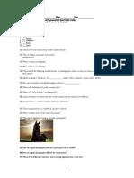 DP 2 Final 2016 Study Guide