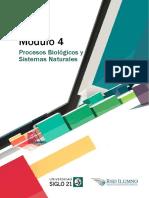 Procesos Biológicos y Sistemas Naturales