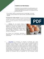 FUENTES DE PROTEINAS animales.docx