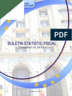 Buletin Statistic Fiscal 3 2013
