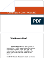 Chapter 9 Controlling