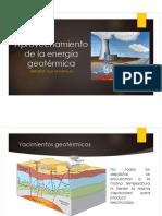 Aprov Energía Geotérmica - Energía Hidráulica