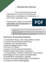 Biodiversity Theory Presentation