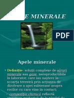 Ape minerale balneologie curs
