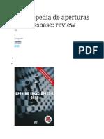 Enciclopedia de Aperturas de Chessbase