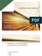 Aula 1_A Política Como Ciência
