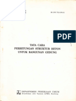 Sksni T-15-1991-03 Tata Cara Perhitungan Struktur Beton Untuk Bangunan Gedung