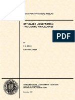 Idriss Boulanger SPT Liquefaction CGM-10-02