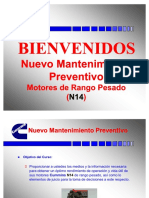 Mantenimiento Preventivo Cummins n14