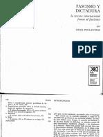 Nicos Poulantzas - Fascismo y Dictadura