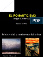 Romanticismo Historia Del Arte
