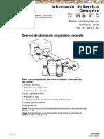 Manual Camiones Volvo Servicio Lubricacion Cambios Aceite