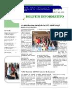 BOLETIN 4 DE LA RED NACIONAL