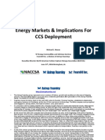 Energy Markets and Implications for CCUS Deployment