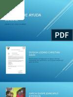 Informe de Ayuda Social (2) CRISTIAM QUIQUIA