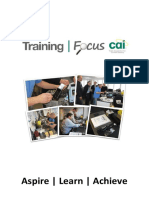2015-11-16 CAI Training Focus Brochure