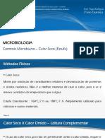 Controle Microbiano - Estufa