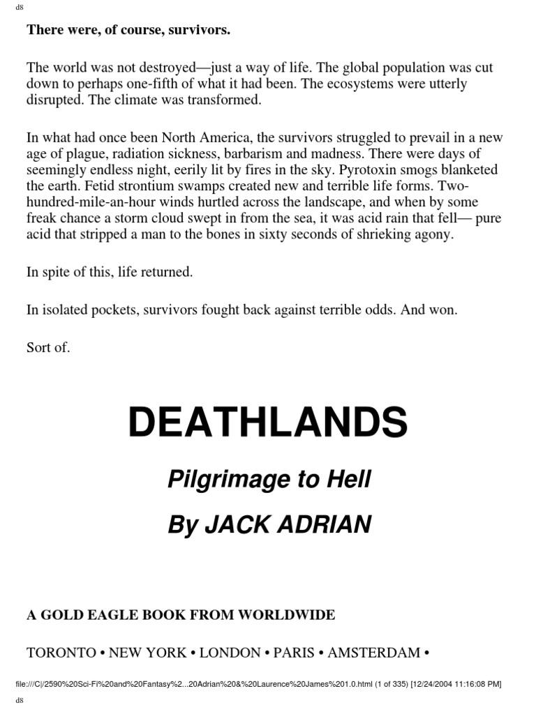 Pilgrimage To Hell: Death Lands Series Book #01  Deathlands  Soviet Union