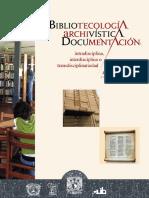 Bibliotecología, Archivística y Documentación - Miguel Ángel Rendón Rojas