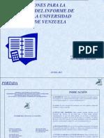 Estructura Del Informe de Pasantías - Copia