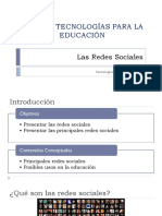 3.9 Redes Sociales