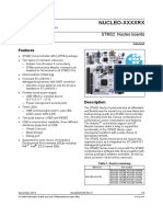 STM32CubeMX Documentation | Microcontroller | Electrical