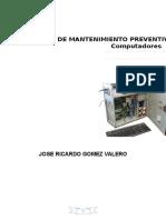 Manual Preventivo y Correctivo para computadoras