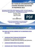 indonesian_crt Uranium and Thorium Exploration