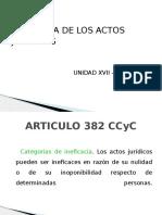 Ineficacia Actos Juridicos
