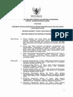 Permenkes Kesehatan 949 Tahun 2004 Sistim Kewaspadaan Dini KLB