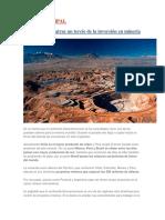 Latinoamérica Atrae Un Tercio de La Inversión en Minería