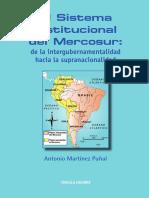El Sistema Institucional Del Mercosur Martinez Punhal