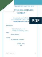Trabajo de Derecho Comercial Titulo Valores (2)