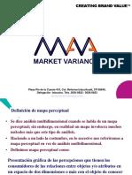 Mapas Perceptuales Market Variance
