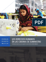 Human Rights in Supply Chains Brochure Spanish Lowres