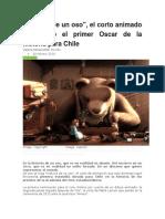 Noticia de Cortometraje Historia de Un Oso