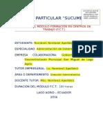 INFORME FINAL DE FCT - SUCUMBIOS.docx