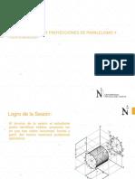 Construcciones y Proyecciones de Paralelismo y Perpendicular