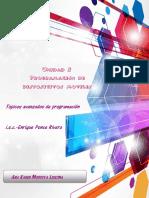 Topicos avanzados de Programación
