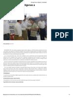 27/05/16 Entregan becas Indígenas a Estudiantes -Termómetro