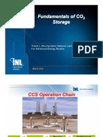 Fundamentals of Geologic CO2 Storage