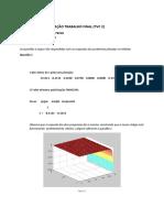 Métodos de Otimização Trabalho Final - Gustavo i. Larissa A