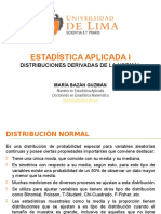 Distribucion Chi Cuadrada, t y Fisher 2016-1