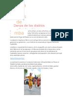 Danzas Tipicas de Cajabamba