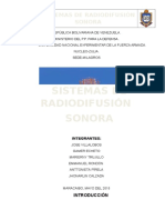 Sistemas de Radiodifusión Sonora