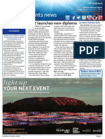 Business Events News for Thu 16 Jun 2016 - CINZ launches new diploma, MEETINGS, 50 Best Restaurants to Melbourne, Voyages Ayers Rock Resort, NZICC, EEAA and much more