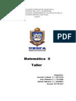 Matematica II (TALLER).docx